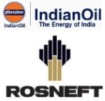 IndianOil, OIL et signe BPRL accord avec Rosneft pour la part participative dans la filiale de Rosneft, la compagnie pétrolière nationale de la Russie