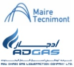 A consortium led by Tecnimont awarded USD490 million EPC contract in Abu Dhabi by Adgas