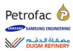 Petrofac awarded Duqm Refinery project