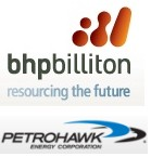 BHP Billiton and Petrohawk Energy Corporation Announce Merger